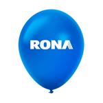 """Ballon 12"""" métallique Premium en latex bleu"""