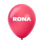 "Ballon 12"" métallique Premium en latex cerise"