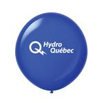 "Ballon 36"" Cristal Premium en latex bleu marin"