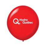 "Ballon 36"" Cristal Premium en latex rouge rubis"