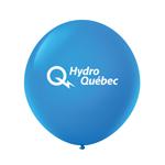 """Ballon 36"""" Premium standard en latex bleu royal"""