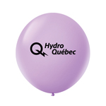"Ballon 36"" Premium standard en latex lavande"