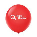 "Ballon 36"" Premium standard en latex rouge chaud"