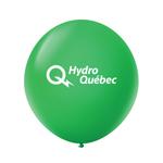 """Ballon 36"""" Premium standard en latex vert été"""