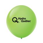 """Ballon 36"""" Premium standard en latex vert lime"""
