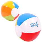 Multicolored Beach Ball 6 inch
