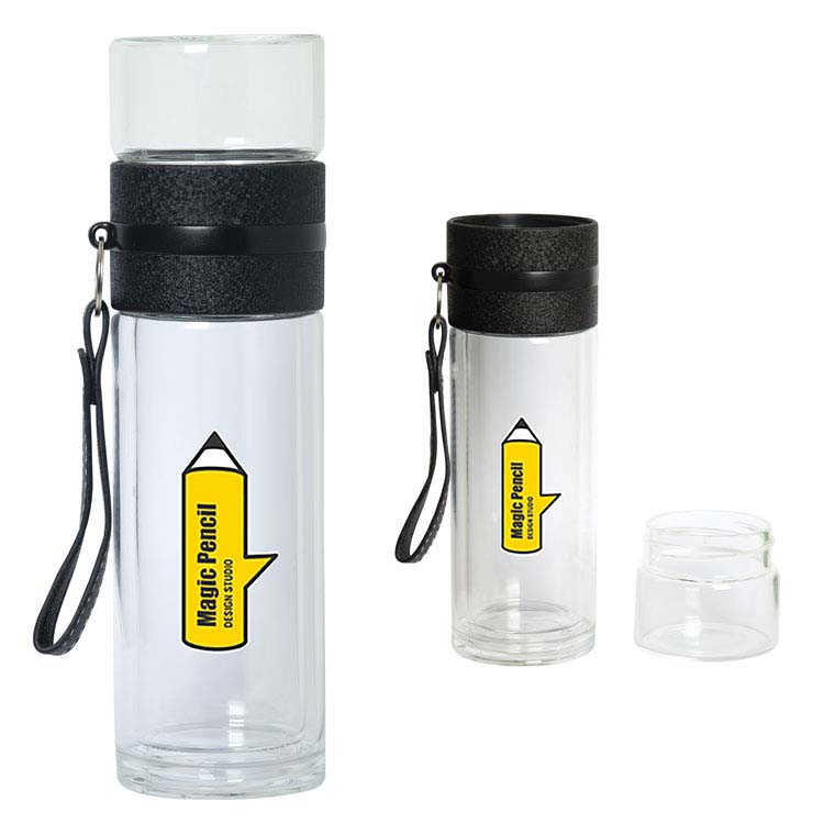 Brook Glass Infuser Bottle