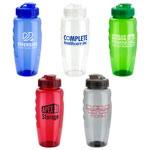 Relay PET Eco-Polyclear Bottle with Super Sipper Lid