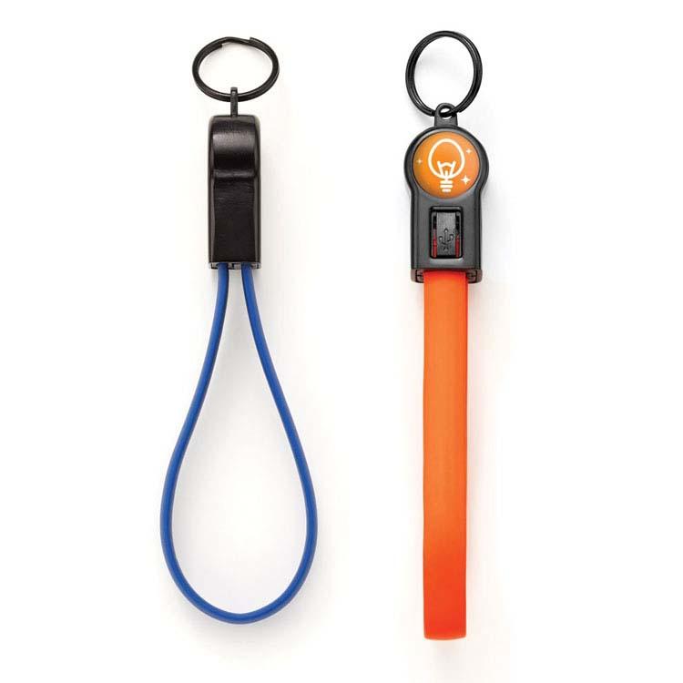 Câble de transfert de données et rechargement 2-en-1 avec porte-clés Charlie #2