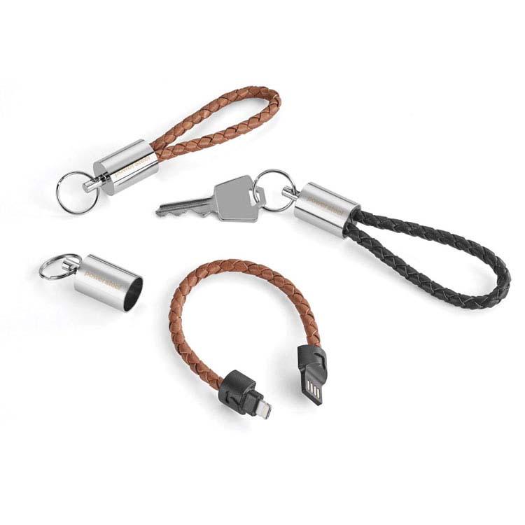 Câble de transfert de données et rechargement 2-en-1 et porte-clés Nathan #2