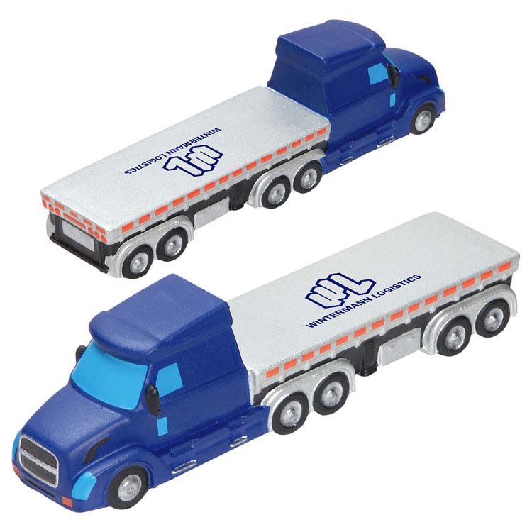 Semi Flatbed Truck Stress Reliever