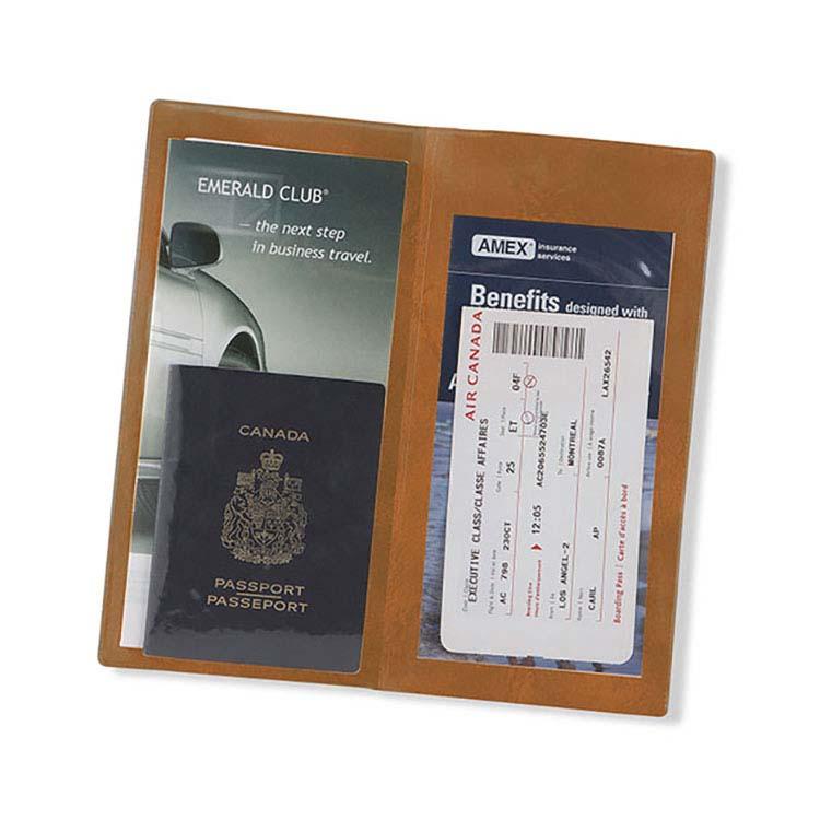 Étui pour passeport et billet