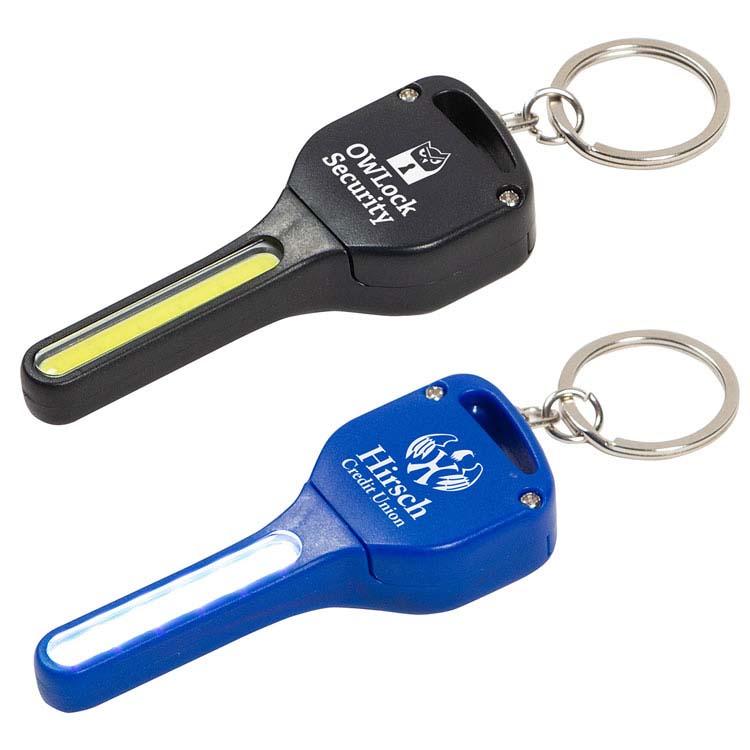 Lumière de sécurité porte-clés COB