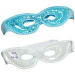 Masque pour les yeux Aqua Pearls Premium en peluche chaud/froid