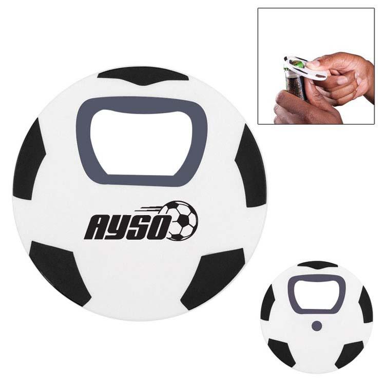 Ouvre-bouteille ballon de soccer