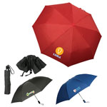 Saunders Reversible Folding Umbrella