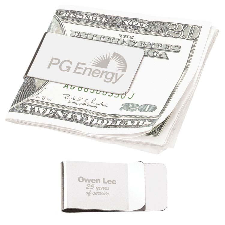 Chrome Money Clip