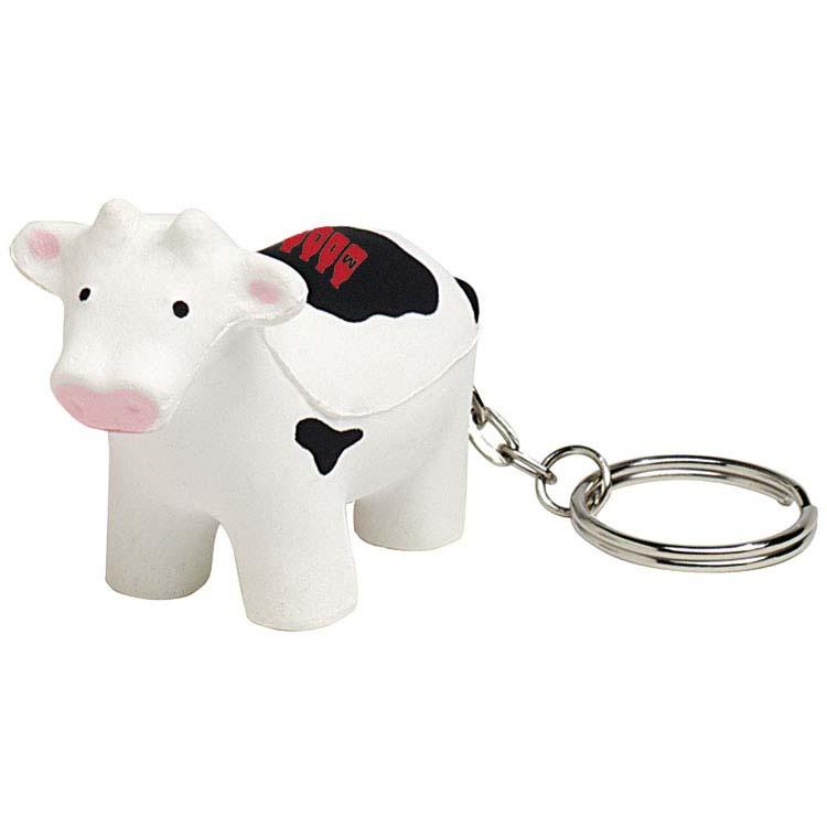 Porte-clés vache anti-stress