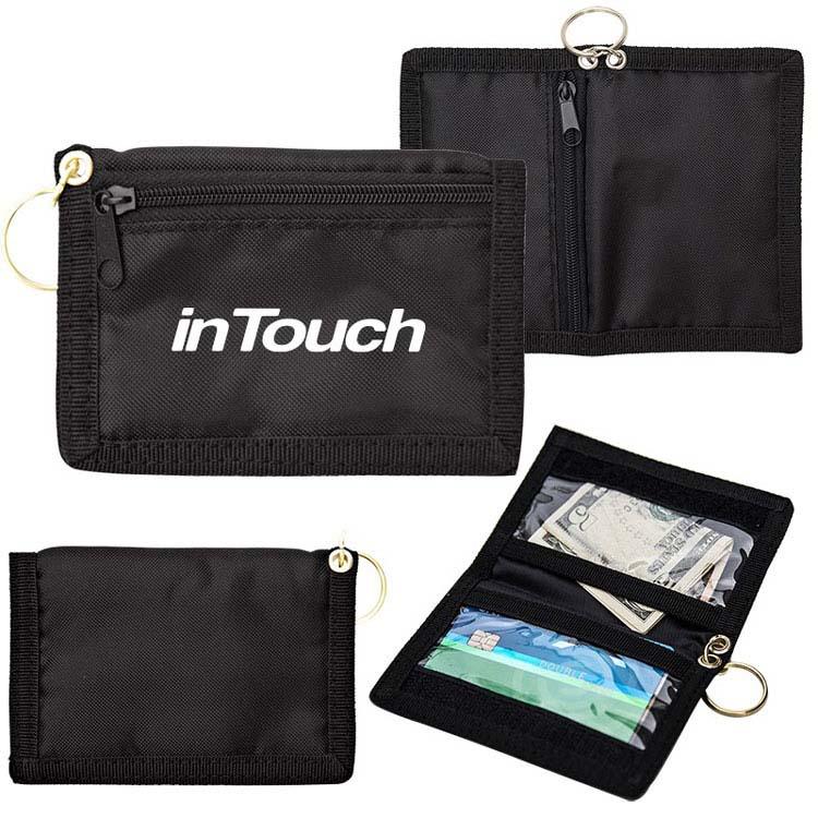 Portefeuille d'identité avec porte-clés