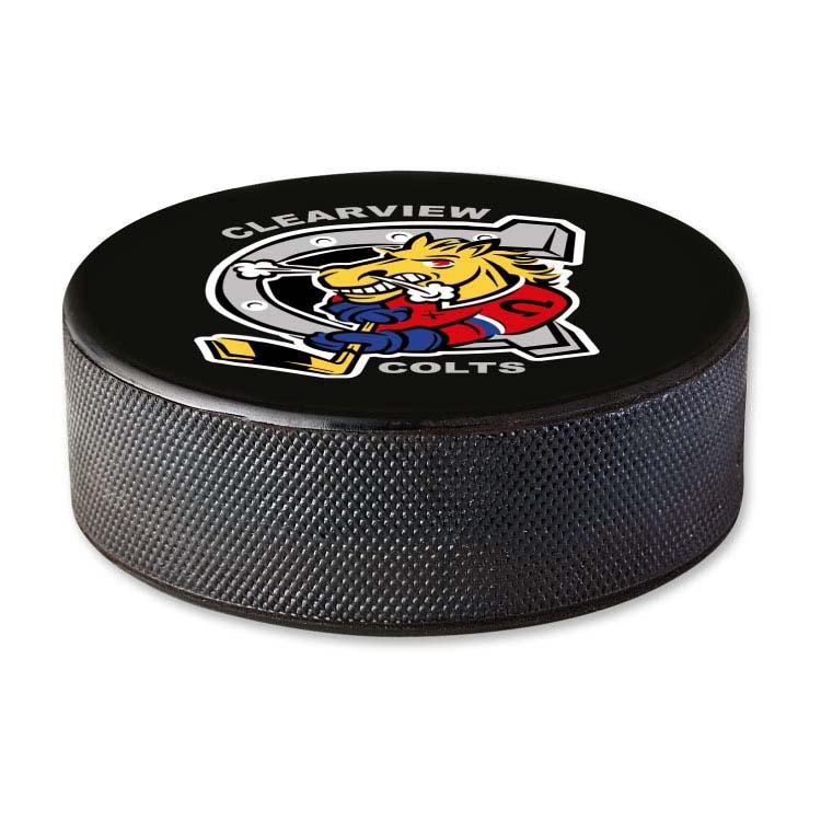 Rondelle de hockey officielle fabriquée au Canada #2