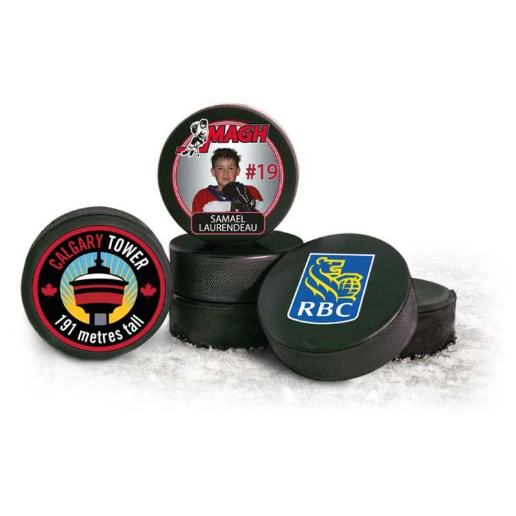 Rondelle de hockey officielle fabriquée au Canada