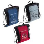 Greystone Drawstring Backpack