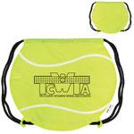 Tennis Ball Drawstring Backpack
