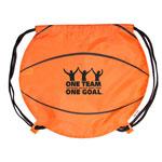 Sac à dos avec cordon basketball