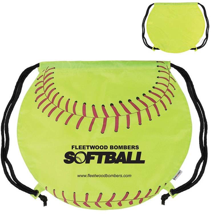 Sac à dos avec cordon softball