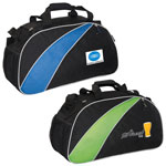 "Polyester and Mesh 22"" Sports Bag"