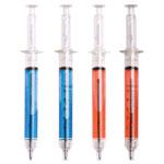 Stylo seringue en plastique