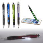 Light-Up-Your-Logo Pen Stylus with Matte Finish