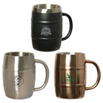 Brewmaster Barrel Mug