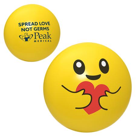 Balle anti-stress Emoji Solidaire