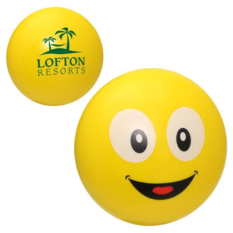Balle anti-stress Smiley Emoji