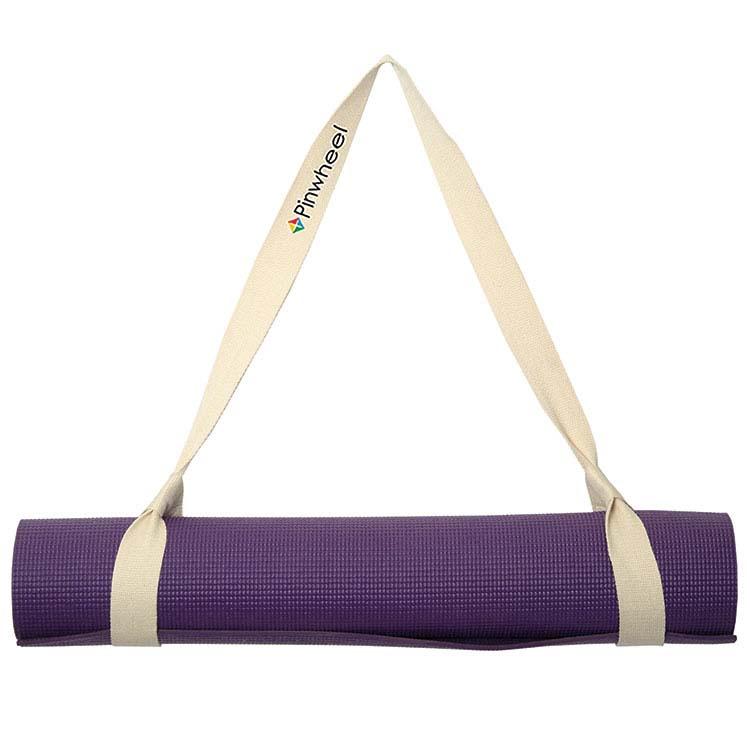 Bandoulière en coton pour matelas de yoga Lotus