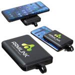 Banque de puissance sans fil Esquire 5000mAh avec câble 3-en-1