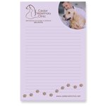 "4"" x 6"" Adhesive Notepad, 100 Sheet Pad"