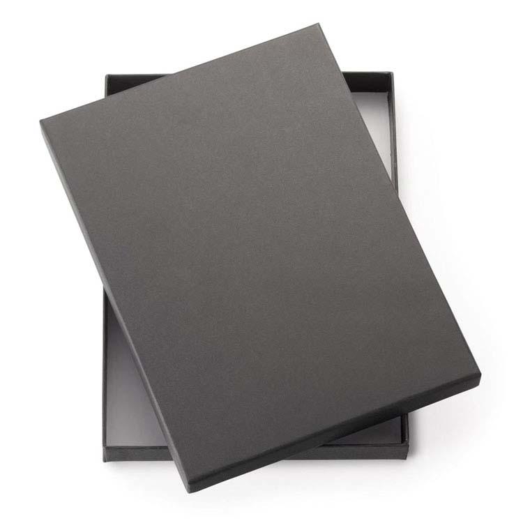 Boîte-cadeau noire 2-pièces pour journal 9