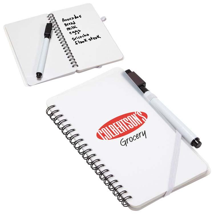 Cahier de notes effaçables