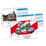 Canada's Charms Double View Calendar