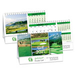 Calendrier Double Vue Golf