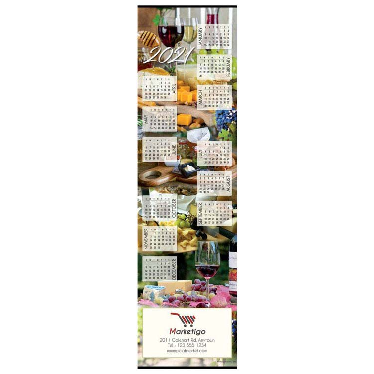 Calendrier Vin et Fromage