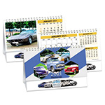 Calendrier Voitures de collection Double Vue