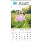 12 X 23 Wall Calendar