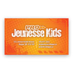 Multicolor Magnetic Business Card .020