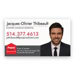 Multicolor Magnetic Business Card .035