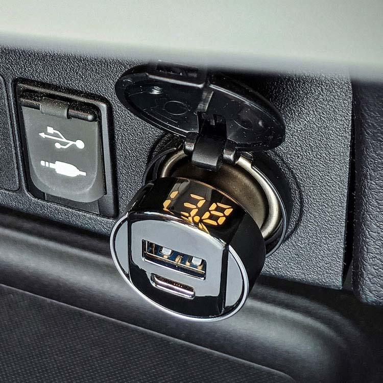 Chargeur de voiture USB-C ihub Super Fast 18W PD #4