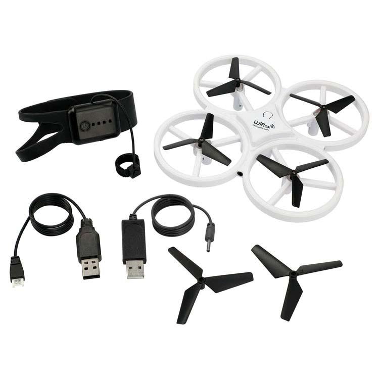 Drone à capteur interactif à contrôle gestuel #5