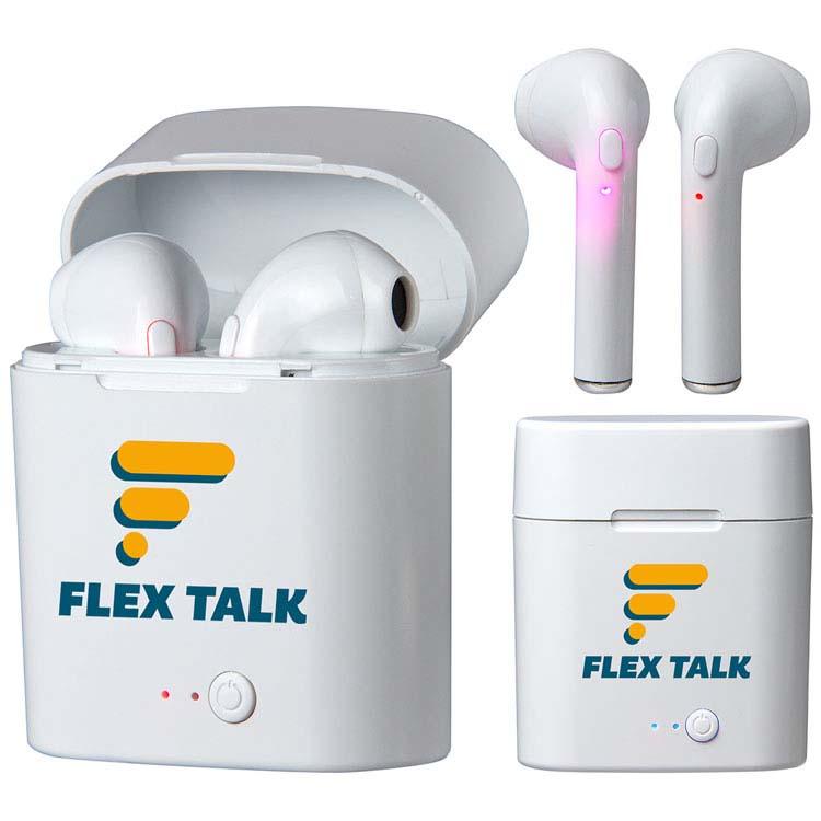 Écouteurs Forte TWS avec boîtier d'alimentation